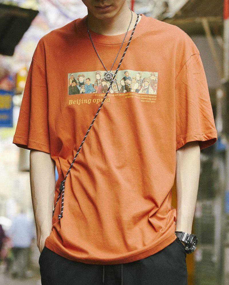 《2色》チャイニーズオペラTシャツの画像1